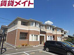 三重県鈴鹿市池田町の賃貸アパートの外観
