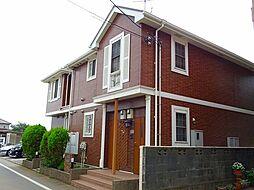 東京都西多摩郡瑞穂町大字武蔵の賃貸アパートの外観