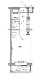 東京都板橋区三園2丁目の賃貸マンションの間取り