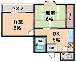アドバンテージ21[2階]の間取り