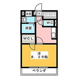 Legia da mako[2階]の間取り