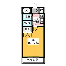 S−stage 5th[2階]の間取り