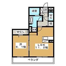 マジェスティ サザンII棟[3階]の間取り