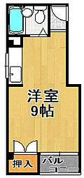コスモレジデンス平尾[3階]の間取り