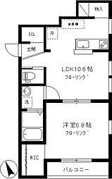 仮)中央町2丁目新築アパート[101号室]の間取り