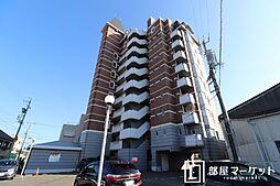 愛知県岡崎市井田町字稲場の賃貸マンションの外観