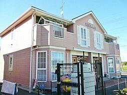 千葉県東金市田間2丁目の賃貸アパートの外観