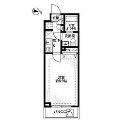プレール・ドゥーク板橋区役所前II[3階]の間取り