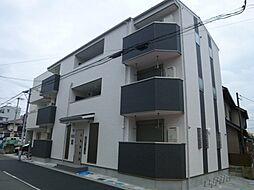 大阪府大阪市住吉区長居4丁目の賃貸アパートの外観