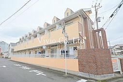 埼玉県鶴ヶ島市脚折町5丁目の賃貸アパートの外観