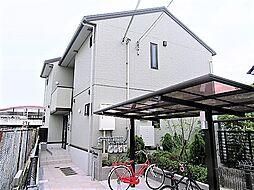 大阪府藤井寺市沢田4丁目の賃貸アパートの外観
