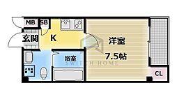 レジェンドJS[6階]の間取り
