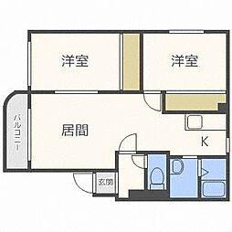 エストフォーレ16[4階]の間取り