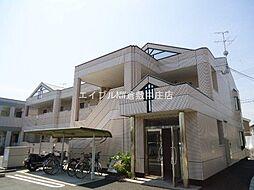 岡山県倉敷市八王寺町丁目なしの賃貸アパートの外観
