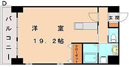 エスズイン日蒔野[8階]の間取り