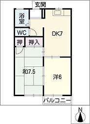 ジョイフル柊[2階]の間取り