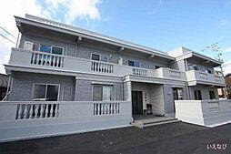 広島県福山市日吉台3丁目の賃貸マンションの外観