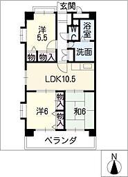 HILLS21[2階]の間取り