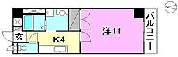 ロイヤルハイツ朝生田[303 号室号室]の間取り
