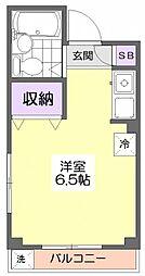 10834[3階]の間取り