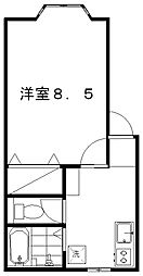 パインテイル[2階]の間取り
