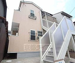 京都府京都市伏見区深草稲荷御前町の賃貸アパートの外観