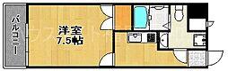 福岡県福岡市中央区平尾3の賃貸マンションの間取り