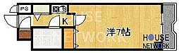 ライオンズマンション京都河原町[1015号室号室]の間取り