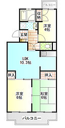 メゾン太田[1階]の間取り