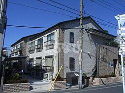 東京都江戸川区鹿骨4丁目の賃貸アパートの外観