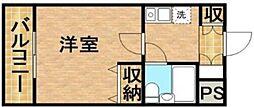 メゾンむさし野[5階]の間取り