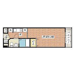 エミネンス南茨木2番館[3階]の間取り