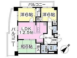 スティル・ティー 4階3LDKの間取り