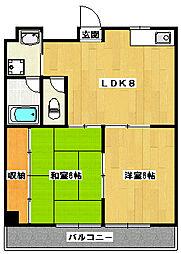 セノータ[4階]の間取り