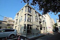 岡山県岡山市北区岩田町の賃貸アパートの外観