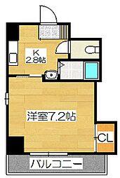 ファビラスマンション[2階]の間取り