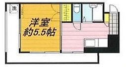 埼玉県戸田市本町1丁目の賃貸マンションの間取り
