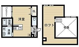 WIN荒子 (ウィンアラコ)[2階]の間取り