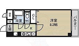名古屋市営東山線 東山公園駅 徒歩1分の賃貸マンション 4階1Kの間取り