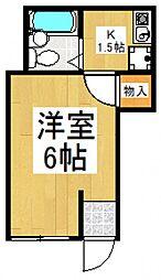 トマトハウス[1階]の間取り