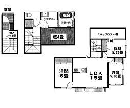 神奈川県海老名市大谷南2丁目の賃貸アパートの間取り