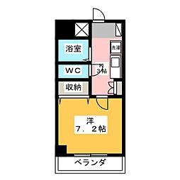 湯浅ビル[3階]の間取り