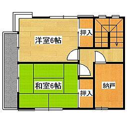 [テラスハウス] 東京都青梅市新町2丁目 の賃貸【東京都 / 青梅市】の間取り