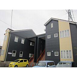 ツインハウスB[1階]の外観