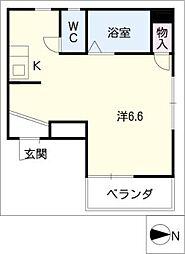 第二田中ビル[4階]の間取り