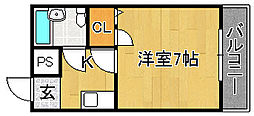 メゾン深野II[2階]の間取り