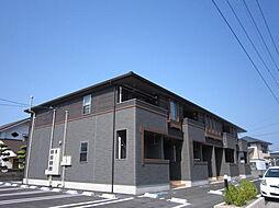徳島県鳴門市瀬戸町明神字鳴谷の賃貸アパートの外観
