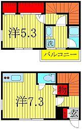 G-1 大塚町[1階]の間取り