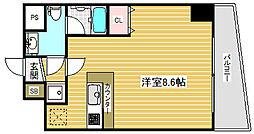 アドモリモト元町通[7階]の間取り