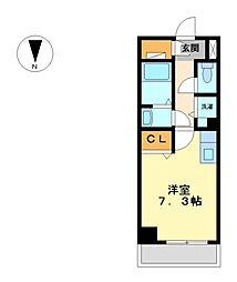 ベレーサ築地口ステーションタワー[8階]の間取り